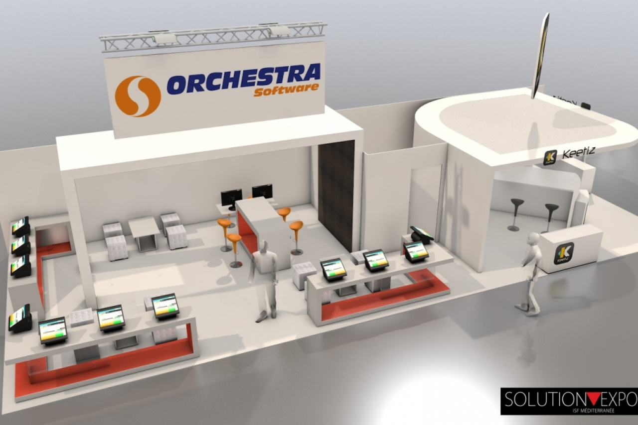 Stand Orchestra Software Salon SIRHA 2017