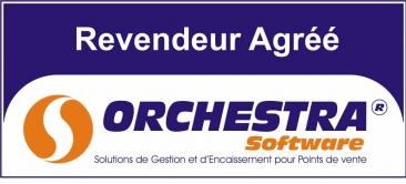 Logo Orchestra Software revendeur agréé