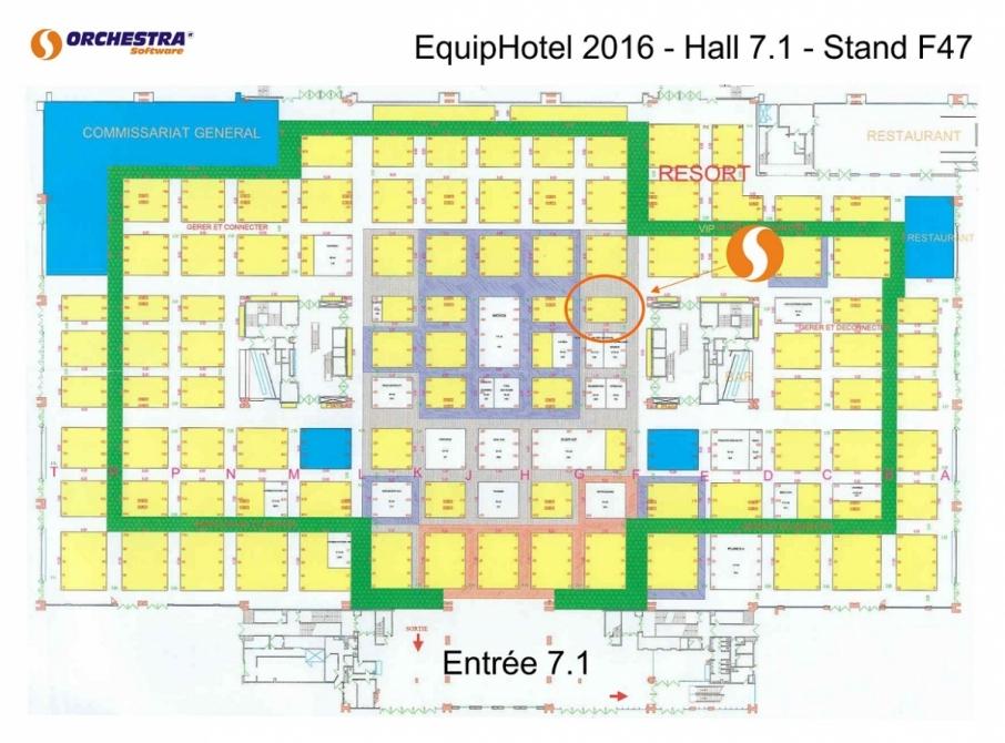 Orchestra Plan Salon Equip'Hôtel 2016