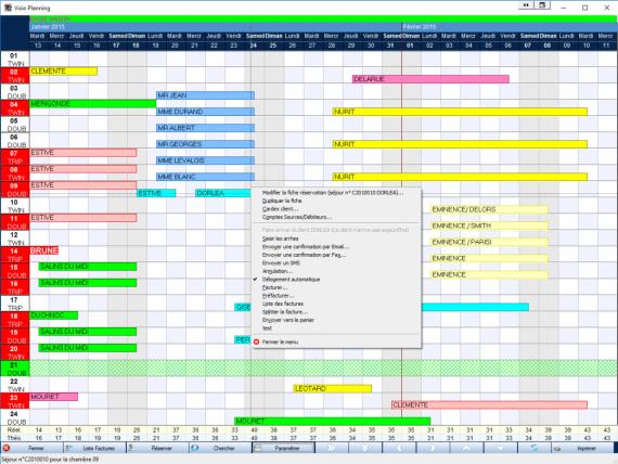 Logiciel orchestra h tel orchestra software for Numero de chambre hotel