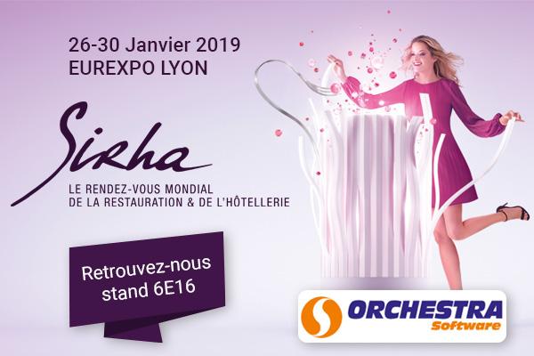 orchestra sera au salon sihra 2019 à Lyon Eurexpo
