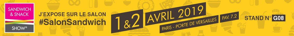 salon orchestra sandwich snack show 2019 paris