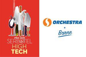 orchestra borne prix du high tech exphotel 2019